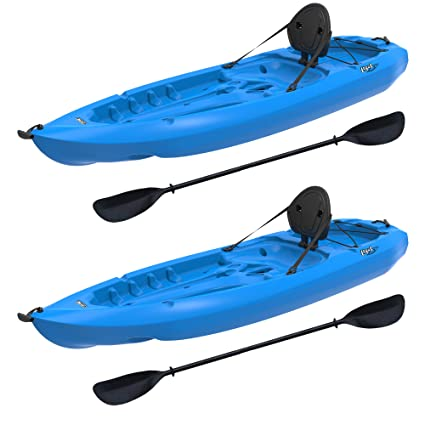 41807768d2c4 Amazon.com   Lifetime Lotus Sit-On-Top Kayak with Paddle (2 Pack ...