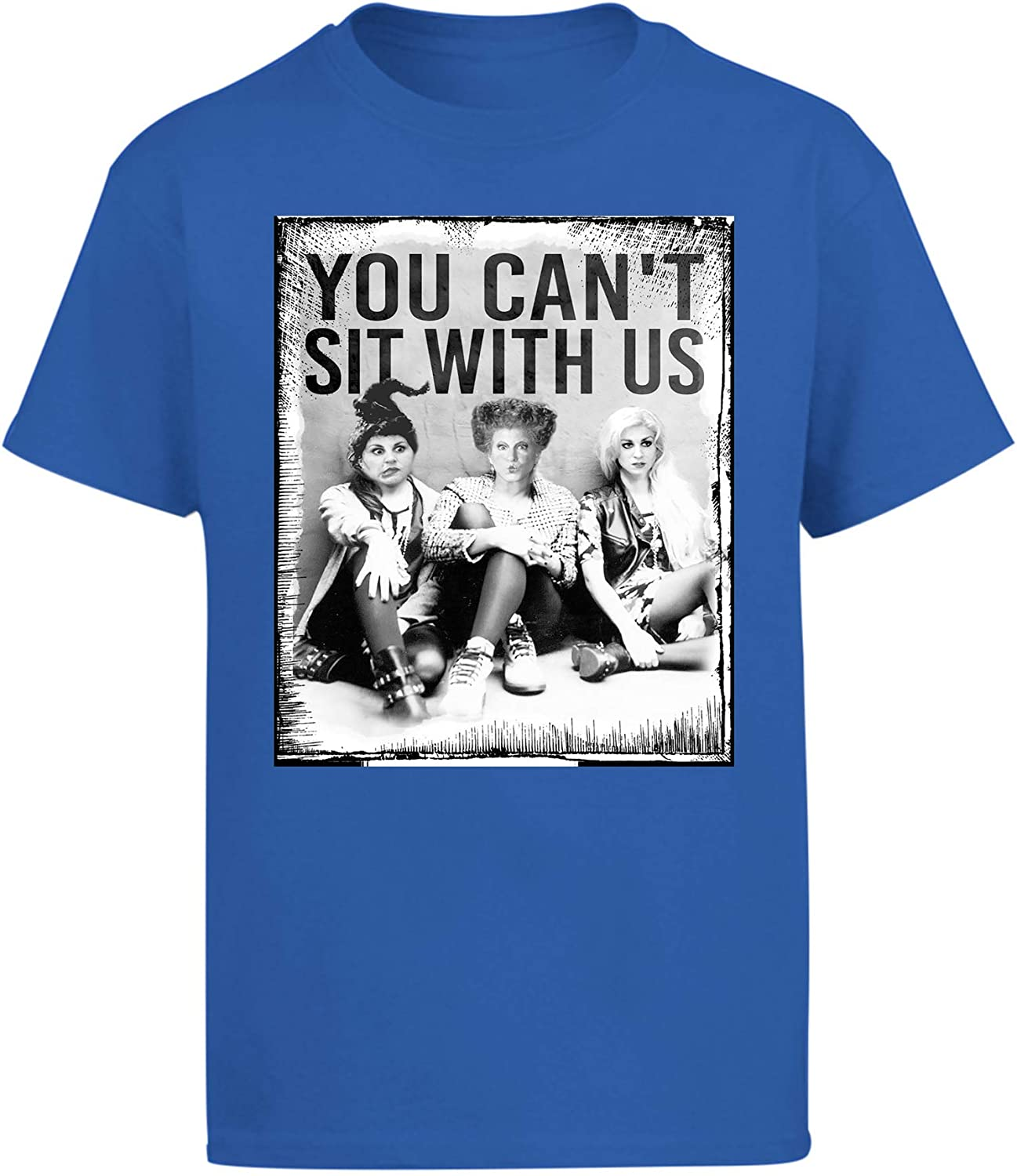 Blue T-Shirt You Cant Sit with Us Hocus Pocus
