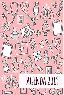 Missborderlike - Agenda 2019 Dia vista - Enfermera: Amazon ...
