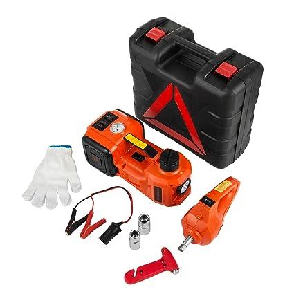 Amazon Com Bestauto 3ton Electric Hydraulic Floor Jack 12v Electric