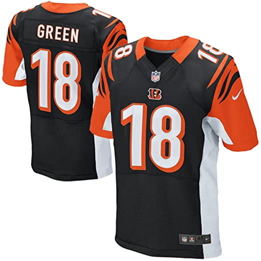 6b4bc3206a0 Nike A.J. Green Cincinnati Bengals Authentic Black Elite Stitched On-Field  Jersey - Men's 56