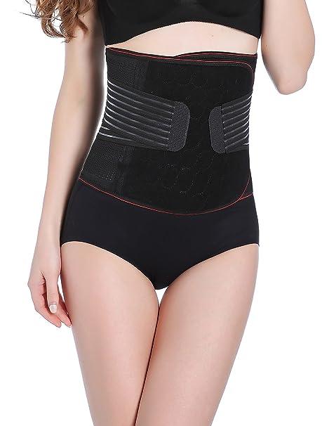 6a23dfa2b91 Aivtalk Maternity Postpartum Support Body Recovery Back Tummy Waist Shaper  Size Medium Black