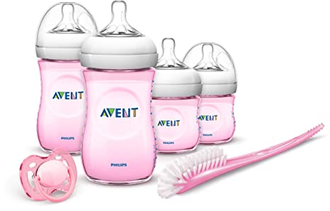 Philips Avent - Set Regalo gama Natural para recién nacidos, color rosa