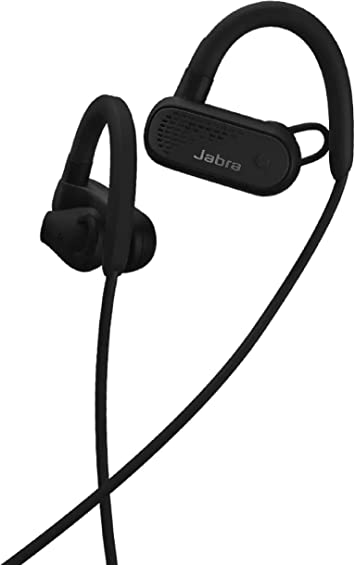 Amazon Com Jabra Elite Active 45e Wireless Sports Earbuds Black Alexa Built In Wireless Bluetooth Earbuds Around The Neck Style With A Secure Fit And Superior Sound Long Battery Life Ideal For Running