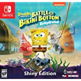 Spongebob Squarepants: Battle for Bikini Bottom - Rehydrated - Shiny Edition (Nintendo Switch) - Nintendo Switch Shiny Editio