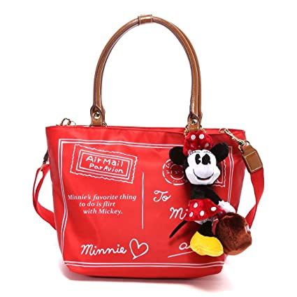 59b402171b Samantha Thavasa Disney Collection Minnie Mouse Toto Bag (Red)   Amazon.co.uk  Kitchen   Home