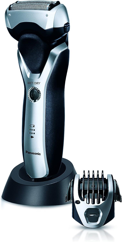 Panasonic ES-RT57-S503 Negro, Plata - Afeitadora (Negro, Plata, AC ...