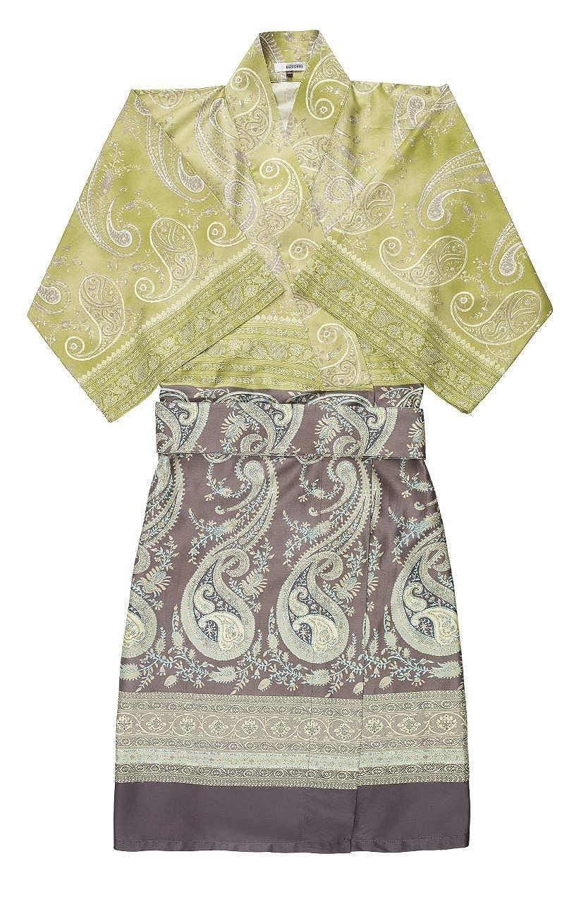 Bassetti Unisex-Kimono Scauri V7 Satin-Frottier