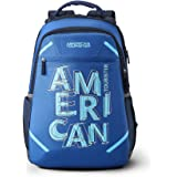 American Tourister Rave 29 Ltrs Blue Casual Backpack (Fi3 (0) 01 003)
