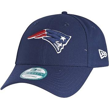 New Era 9forty - Gorra con ajuste trasero, diseño de la liga NFL, Unisex, New England Patriots #2701, OSFM (One Size fits most)