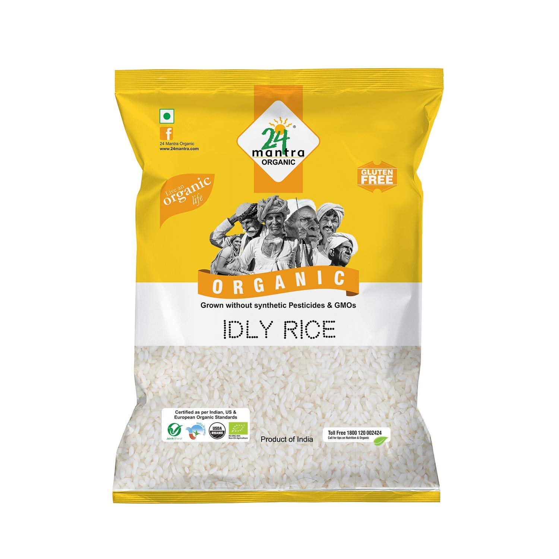 24 Mantara Organic, Idly Rice, 20 Lb