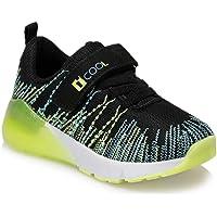 SOLE Neon Sarı Erkek Çocuk Yürüyüş Ayakkabısı