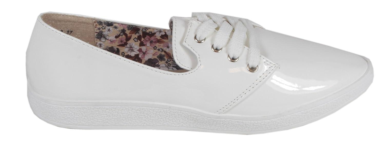 trendBOUTIQUE Sneaker Donna, Bianco (Bianco), 37