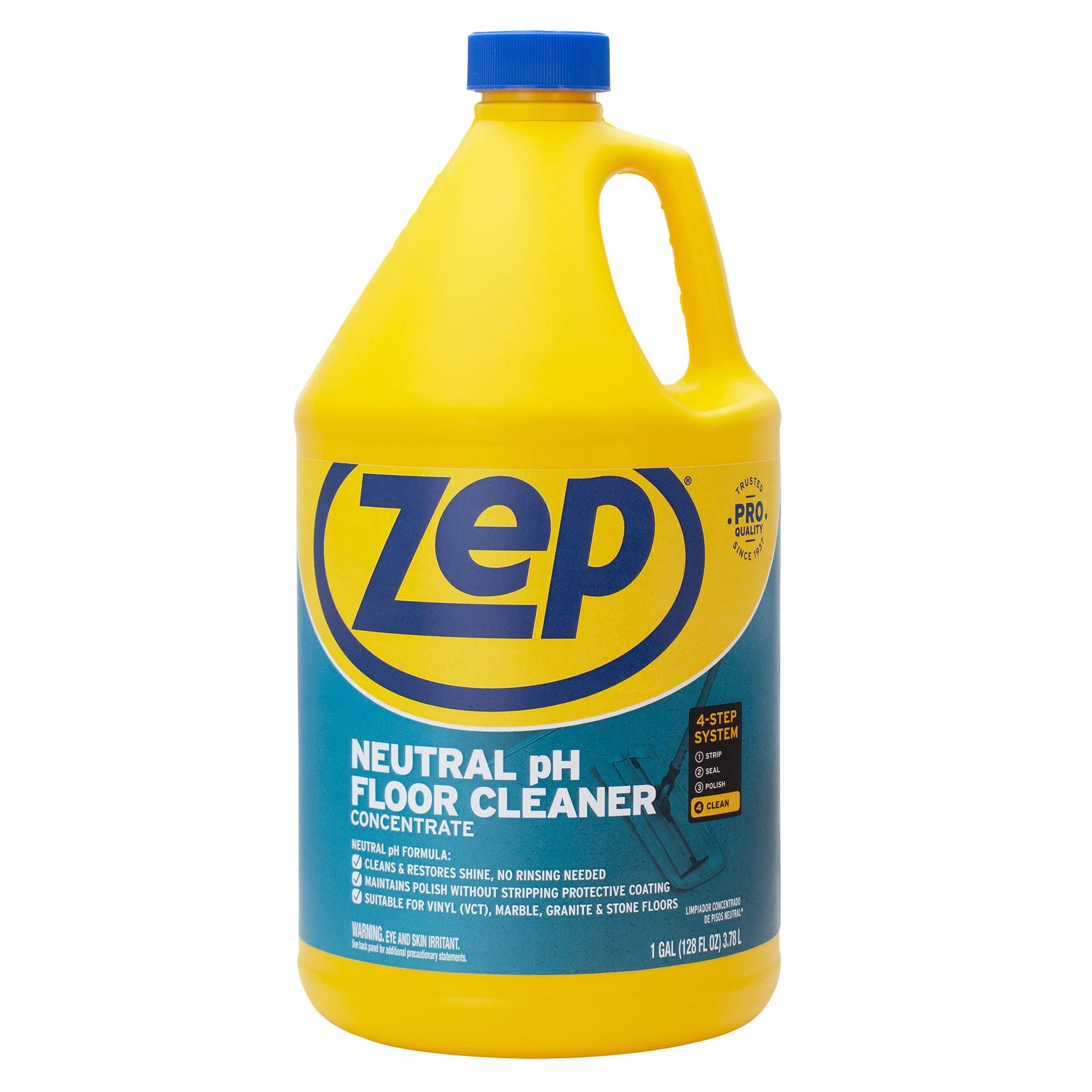 Zep Neutral Floor Cleaner Concentrate 128 Ounce ZUNEUT128