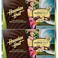 Hawaiian Host Aloha Macs Milk Chocolate Macadamia Nuts(2 Boxes)