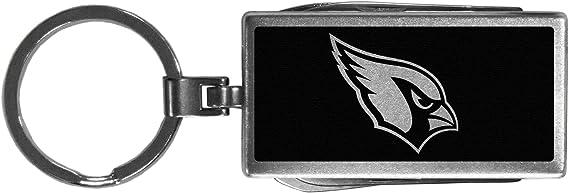 Siskiyou Nfl Sports Fanshop Arizona Cardinals Multi Tool Schlüsselanhänger Schwarz One Size Schwarz Sport Freizeit