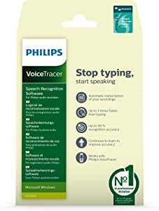 Philips DVT2805 Voicetracer Speech Recognition Software
