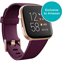 $189 » Fitbit Versa 2 Health & Fitness Smartwatch with Heart Rate, Music, Alexa Built-in, Sleep & Swim…