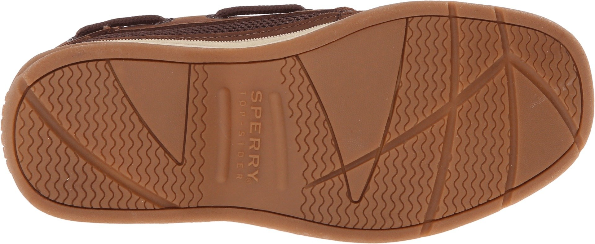 Sperry Boy's Kids, Lanyard Boat Shoes Brown 4 M by Sperry (Image #3)