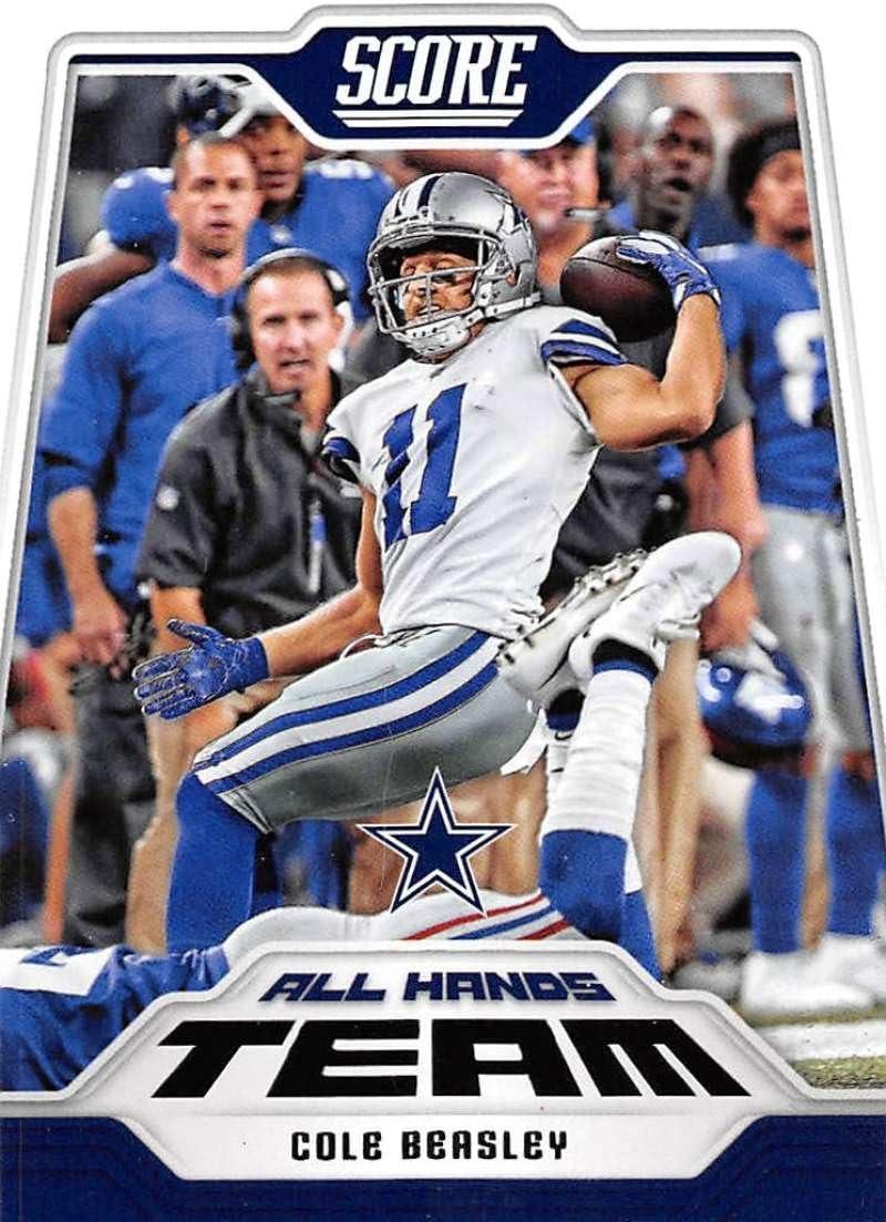 2018 Score All Hands Team #1 Cole Beasley Dallas Cowboys Football Card