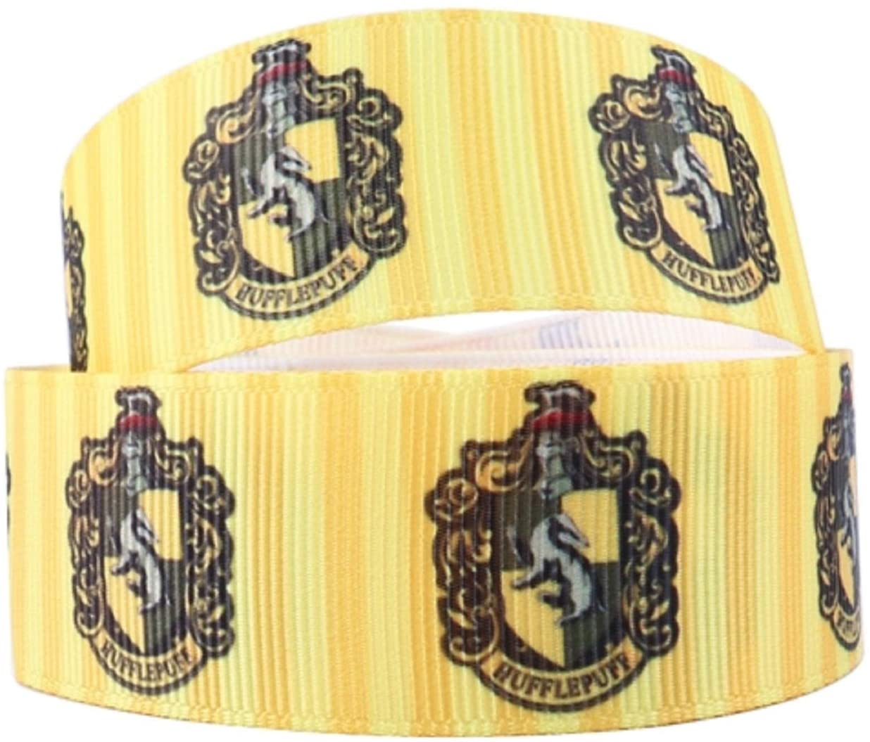 """Ravenclaw House Crest 1/"""" Wide Repeat Ribbon Sold in Yard Lots"""
