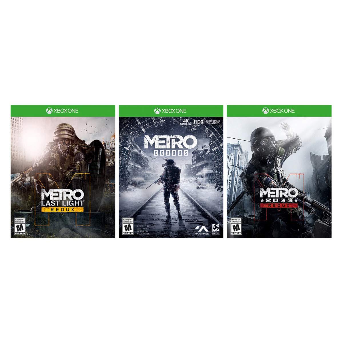 Xbox One X 1TB Console - Metro Exodus Bundle by Microsoft (Image #3)