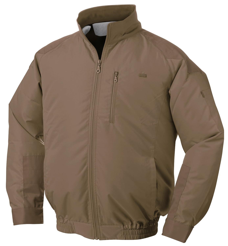 NSP 空調服 服単体 チタンコーティング 立ち襟 肩袖補強あり キャメル M 8208409 B01D4BW59A M|服単体