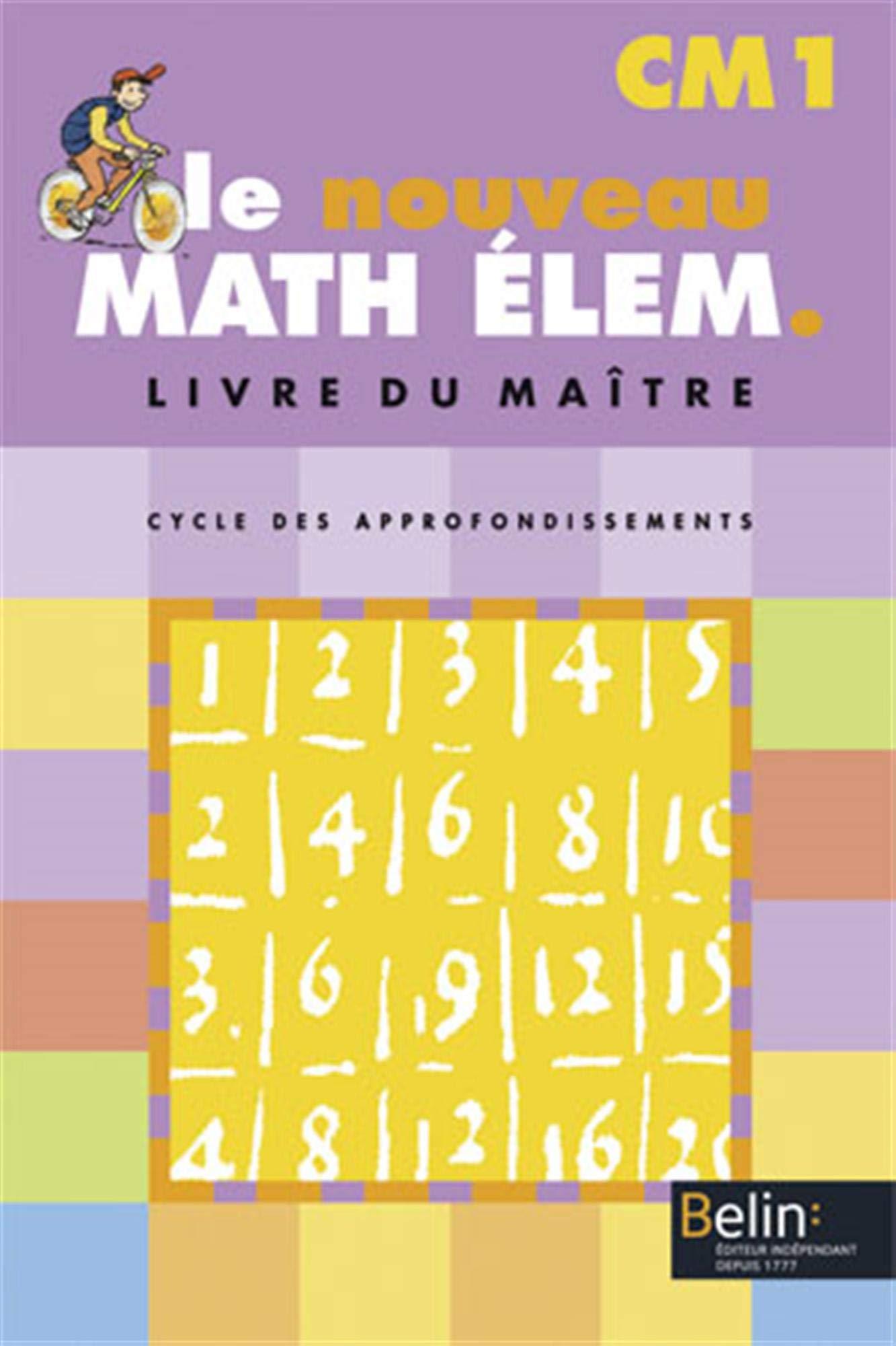 Le Nouveau Math Elem Cm1 Livre Du Maitre Telecharger Lire