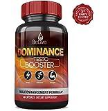Testosterone Booster for Men - Tribulus Terrestris, Maca, L-Arginine, Ginseng Blend. Muscle Mass Growth & Alpha Energy   100% Natural & Potent   60 Cap. Made in USA