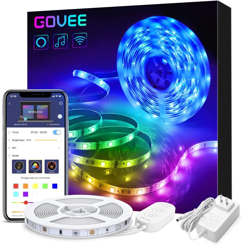 GOVEE Smart Wi-Fi LED Strip Lights