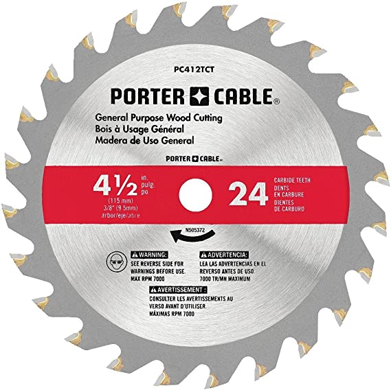 PORTER-CABLE 4-1/2-Inch Circular Saw Blade