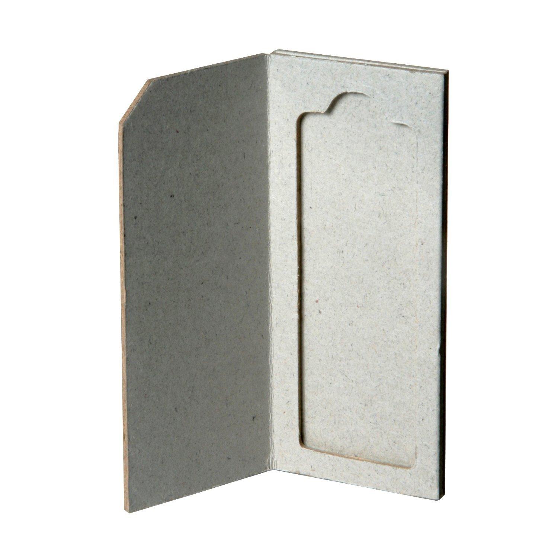 Karter Scientific 212D2 Cardboard Microscope Slide Mailers, Holds 1, Lid & Divider (Pack of 50)