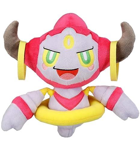 amazon com takaratomy pokemon chat stuffed odemashi fupa hoopa