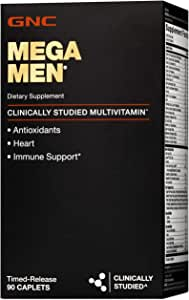 GNC Mega Men Supplement, 90 Count