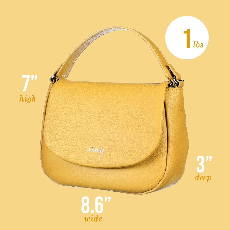 62166f6c7aff Lipault - Plume Elegance Saddle Bag - Chain Strap Shoulder Top ...