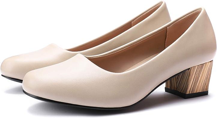 Amazon Com Women S Dress Low Office Shoes Comfortable Formal Pumps Shoes Pumps