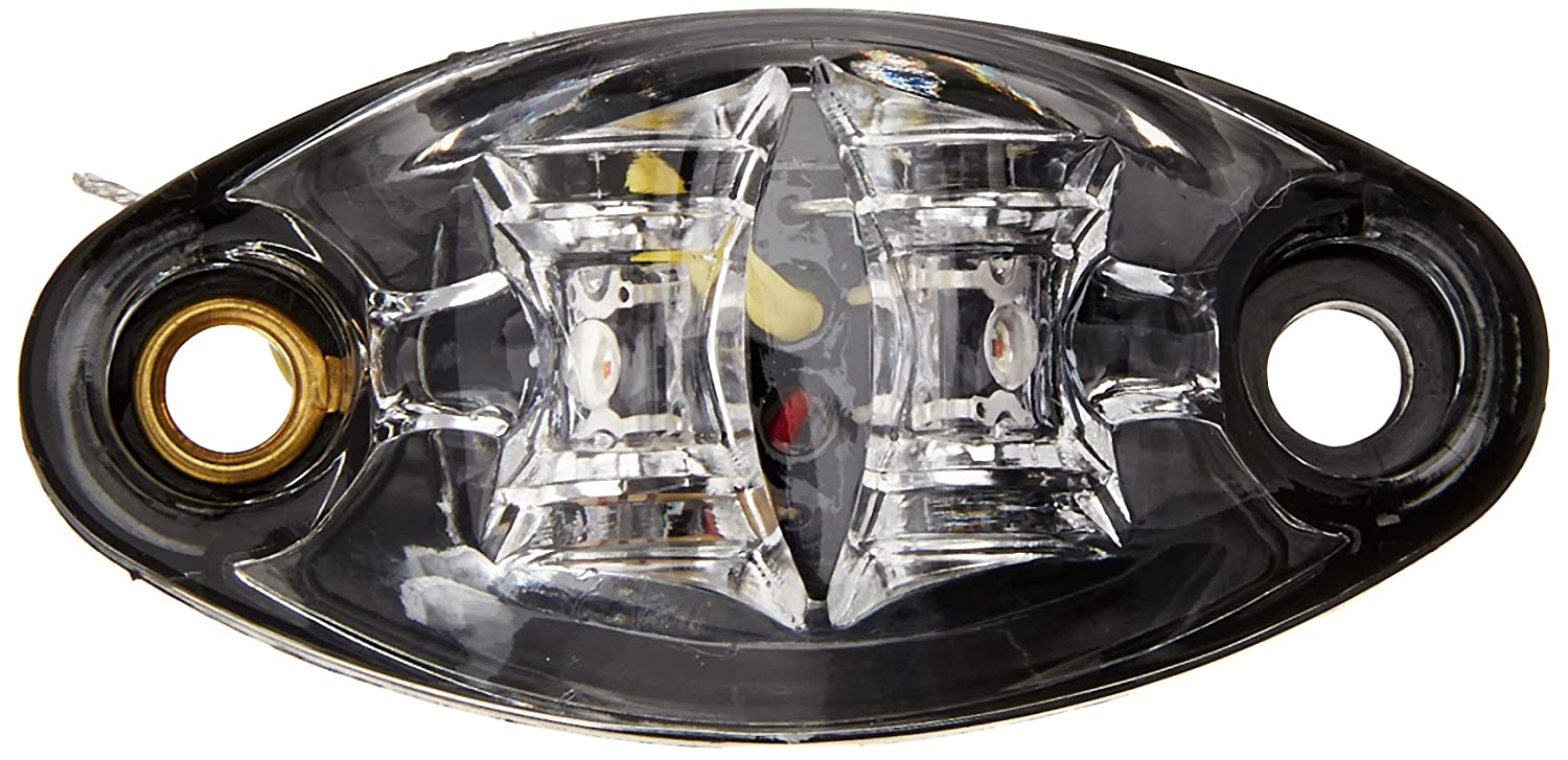 Diamond Group 52440 Clear//Amber 2 Diode 1 Wire LED Marker Light