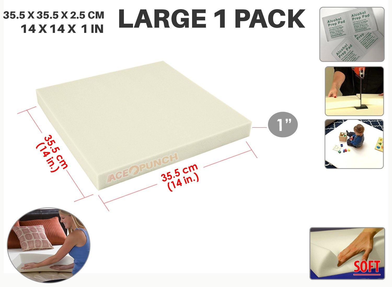 Ace Punch Mousse de Polyur/éthane Tapissier Ameublement Upholstery Medium Foam 35 x 35 x 2 cm AP1137