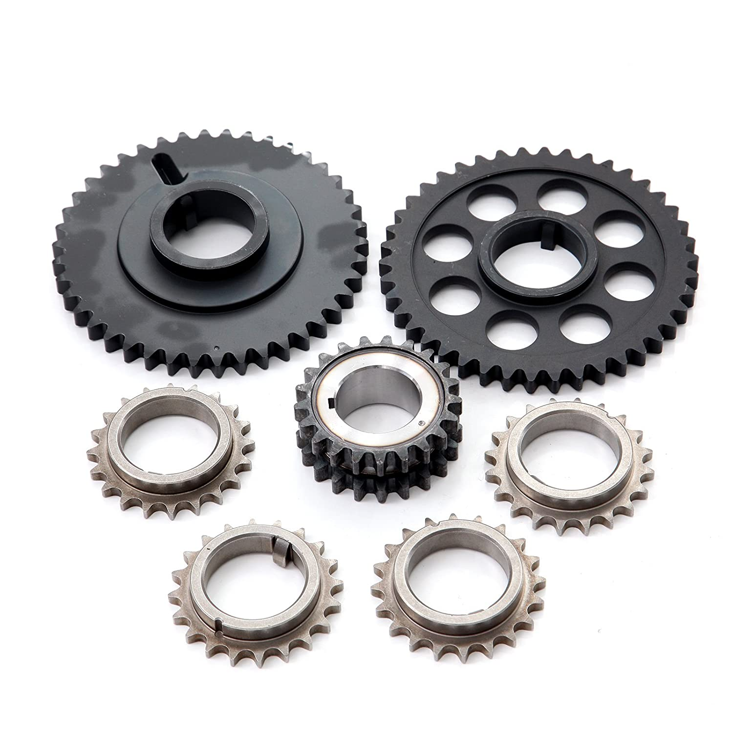 ECCPP 3-387SF Timing Chain Kits Fits with Tensioner 1998 1999 Ford Mustang 1998-2000 Lincoln Continental 1998 Lincoln Mark VIII 053962-5211-1728281