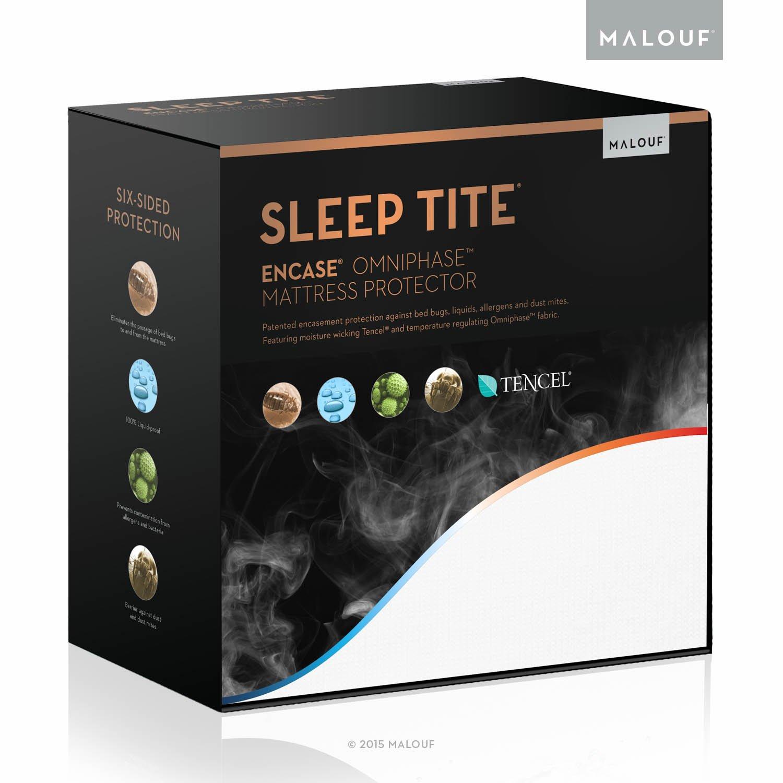 Sleep Tite - Protector de colchón regulador de temperatura, resistente al agua y a prueba de insectos: Amazon.es: Juguetes y juegos