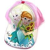 Casquette Enfant 'Frozen - Reine des Neiges' rose