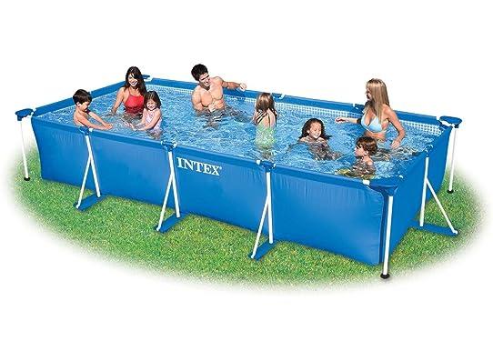 piscine tubulaire metalframe 450 x 220 x 084 m epurateur intex - Liner Pour Piscine Intex Tubulaire