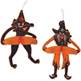 Beistle Witch and Moon Centerpiece 9-3//4-Inch The Beistle Company 01550