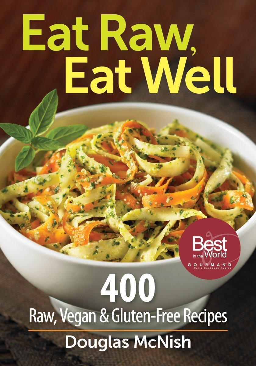 Eat raw eat well 400 raw vegan and gluten free recipes douglas eat raw eat well 400 raw vegan and gluten free recipes douglas mcnish 9780778802952 amazon books forumfinder Images