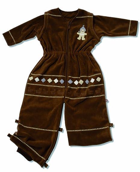 Saco de dormir para bebé Pichu con forro polar de bolsa de palos de 1,