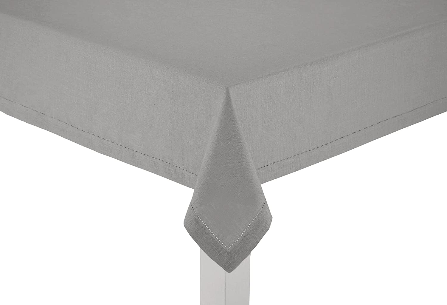 Amazon.com: 100% Linen Hemstitch Table Cloth   Size 60x108 Charcoal   Hand  Crafted And Hand Stitched Table Cloth With Hemstitch Detailing.