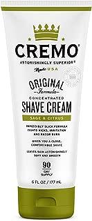 product image for Cremo Barber Grade Sage & Citrus Shave Cream, Astonishingly Superior Ultra-Slick Shaving Cream Fights Nicks, Cuts and Razor Burn, 6 Oz
