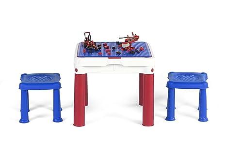 Keter constructable tavolo da gioco per bambini con spazio per