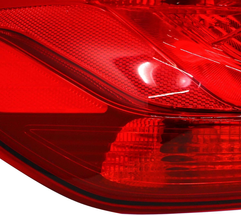 C045 Red, R/ückleuchten Folie Set Aufkleber T/önungsfolie Heckleuchten passgenau zugeschnitten Auto R/ücklichter Fastback