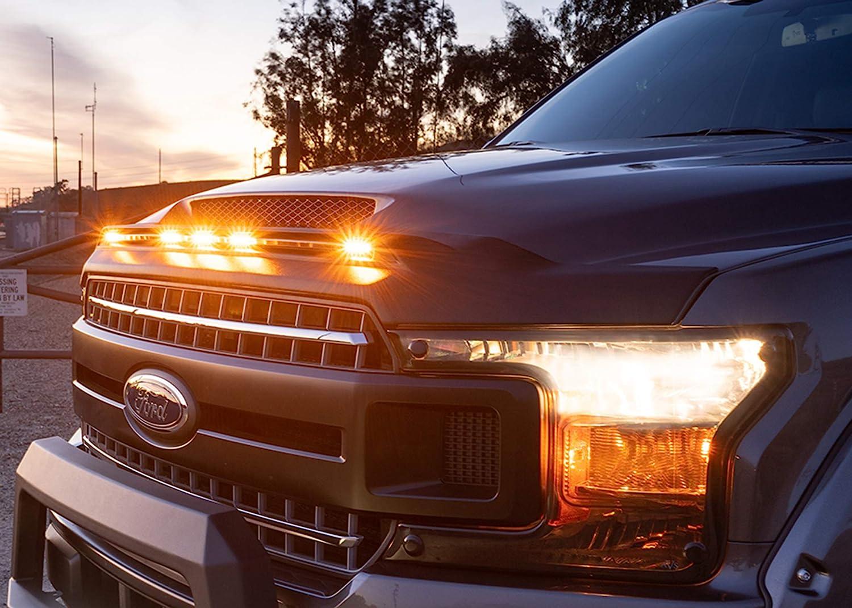 Auto Ventshade AVS 753189 Aeroskin Lightshield Hood Protector for 2019-2020 Ram 2500//3500 Black